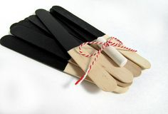 Chalkboard Stick Tags for Seating cards or Favors