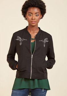 #AdoreWe #ModCloth Outerwear - ModCloth Hum's the Word Jacket - AdoreWe.com