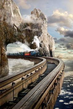 🌱 Beauty Place🌱 Train by… Train Tracks, Train Rides, Abandoned Train, Bonde, Train Art, Train Pictures, Old Trains, Train Journey, Model Trains