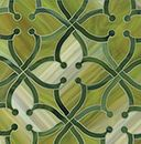 "Beautiful glass tile ""june in peridot and malachite"" from Ann Sacks... translate into a quilting pattern?"
