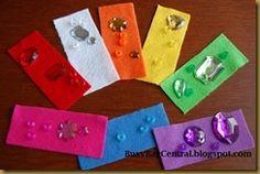 Busy Bag Central: Rainbow Bright busy bag