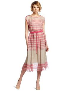 Tracy Reese Women's Boat Neck Frock