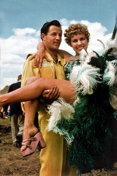 Circus Performer Couple, 1954