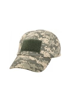 Rothco s ball cap style tactical operator hat features reinforced air vent  holes with color matching poly adjustment strap and plastic buckle. ba0049e2e5c