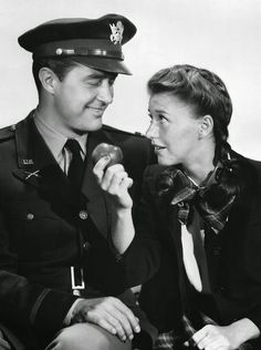 Ray Milland and Ginger Rogers