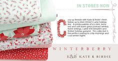 Winterberry by Kate & Birdie for Moda fabrics