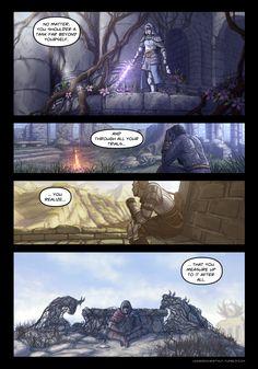 Chestnut / part 7 Dark Souls Comic