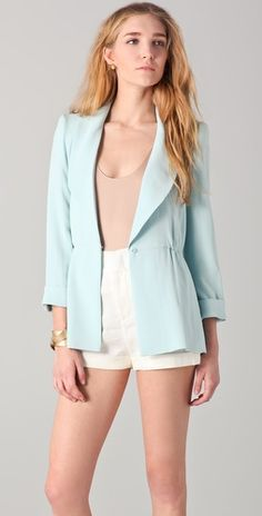 Love this blazer for spring