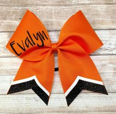 Hey, I found this really awesome Etsy listing at https://www.etsy.com/listing/490542504/custom-cheer-bow-you-pick-colors-team