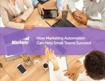 [FREE EBOOK] How Marketing Automation Can Help Small Teams Succeed – Marketo