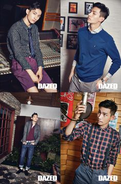 Park Hyeong Seop - Dazed and Confused Magazine August Issue '14
