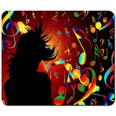 Mouse pads Free Shipping music design