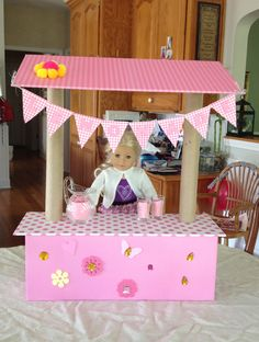 american girl doll crafts diy 1000 images about diy lemonade stands for american 5840