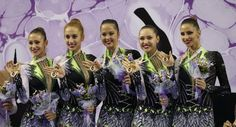 Historic win for the Bulgarian team in Rhythmic Gymnastics was achieved in Izmir. The 2014 all around world champions are: Reneta Kamberova, Mihaela Maevska-Velichkova, Tsvetelina Naidenova, Tsvetelina Stoqnova and Hristiana Todorova. The girls are trained by Inna Ananieva and have already achieved many other accomplishments-gold and bronze medals in Baku and first place at the Dundee Cup.The last time Bulgaria had all around champions was in 1996.