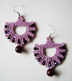Lilac Paika by PipaLatest, via Flickr  #beadwork