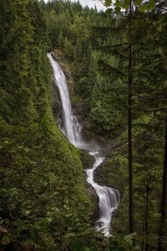 Wallace Falls at Wallace Falls State Park, 111 Places to see in Western Washington