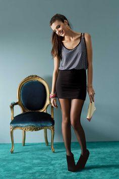 Vestido Sexy Dúo de Cyzone - Un dúo imperdible! www.cyzone.com #PrimerasVecesbyCyZone para este cambio utilizaria un vestido por que  asi nunca uso