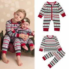 New NWT Starting Out Boys Christmas Holiday Outfit Sz 6 Mo  Brother /& Sister