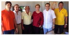 RN POLITICA EM DIA: AGRIPINO GARANTE APOIOS DE PREFEITOS DEMOCRATAS DO...