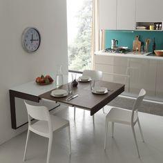 daisy tavolo, Modern table ideal for apartments Kitchen Furniture, Home Furniture, Kitchen Decor, Decoration Inspiration, Indian Home Decor, Cuisines Design, Home Decor Bedroom, Interior Design Kitchen, Kitchen Remodel