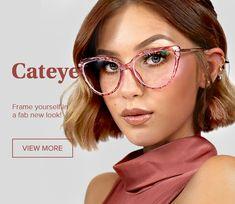 Zeelool |Stylish Prescription Glasses, Affordable Eyeglasses online Red Frame Glasses, Cat Eye Glasses, Girls With Glasses, Eye Prescription, Prescription Glasses Online, Cat Eye Frames, Vintage Cat, Retro Sunglasses, Girls Image