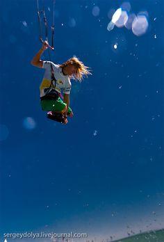 Kitesurfing- nothing but air