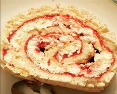 Slimming World 1/2 Syn Raspberry Roulade