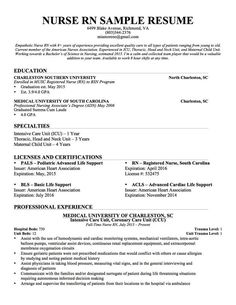 Resume Examples Rn 3 Resume Templates Nursing Resume Registered