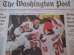 The Washington Post, April 26 2012 - The Joel Ward edition