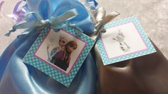 PARTY PACK Set of 6 to 12 - Frozen Favor Bags (Filled) - Olaf, Anna, and Elsa by TeatotsPartyPlanning on Etsy