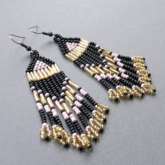 Seed Bead Earrings