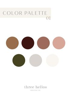 Fall & Autumn Color Palette Warm Fall Color Inspiration Luxe Fall Colors Branding Color Inspiration Fall Wedding Color Inspiration Family Photo Outfit Color Inspiration Three Hellos Creative Co. Fall Color Palette, Colour Pallete, Colour Schemes, Website Color Palette, Modern Color Palette, Brown Color Palettes, Bedroom Color Palettes, Neutral Palette, Modern Colors