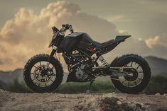 KTM Duke 390 Tracker by Revolt Cycles