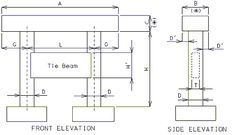 tie beam construction - Google Search