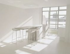 Bianco assoluto. Pure, Simple and Clean.