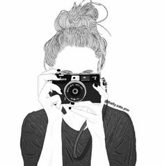 Imagen de outline, drawing, and camera