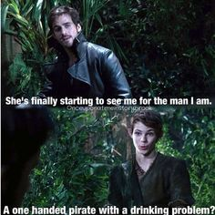 haha this was a kinda sad scene really, but still a great line! Love them both!