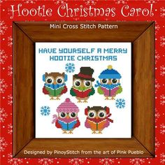click here to view larger image of Hootie Christmas Carol (chart)