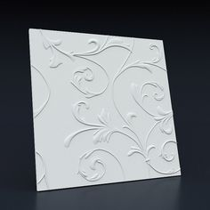 Molds for 3D panels made from ABS plastic for concrete and plaster goods by Fromako company
