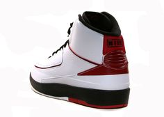 Air Jordan 2 Retro Quarter Finals White Black Red