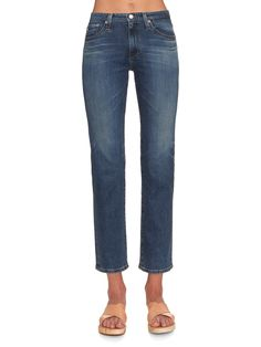 Alexa Chung for AG The Sabine high-rise relaxed-fit jeans