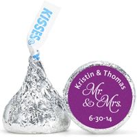 Customize HERSHEY'S® Kisses with over 80 designs plus add your names and wedding date for a sweet treat wedding guests will love!