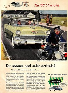 """""""The '56 Chevrolet"""" by saltycotton, via Flickr"""