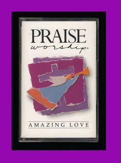 Hosanna Music - Amazing Love (1990 Cassette Tape VG) Praise Worship CCM OOP