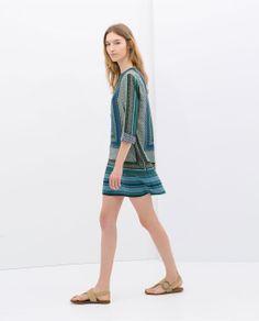 Image 3 of PRINTED KAFTAN from Zara