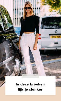 Sta jij regelmatig te beulen in de sportschool of heb je al menig dieet geprobeerd om je benen slanker te krijgen? Stop er maar mee. Het enige wat je nodig hebt, is de juiste broek.  Lente | Zomer | Fashion | Mode | Streetstyle Trends | Trends | Fashion Week | 2020 | Look | Outfit | Figuur | Broeken | Slanker | Slanker Lijken | Dragen | Combineren | Stylen | Stijlen | Pasvorm | Tips | Shoppen | Online Shoppen | Inspiratie | Meer Op Fashionchick
