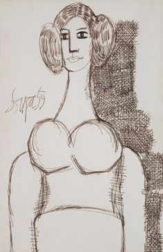 #Francis #Newton #Souza, Modern Masters On Paper: LIVE Auction -December 2, 2014