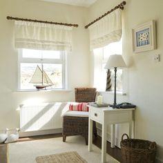 Flur Diele Wohnideen Möbel Dekoration Decoration Living Idea Interiors home corridor - Ein Küsten Flur