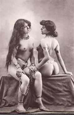Vintage lesbian sex photo something is