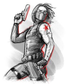Concept series: Animated Winter Soldier by rnlaing.deviantart.com on @DeviantArt